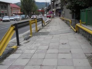 trotuar comarnic