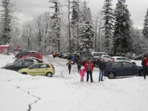 parcare telegondola iarna